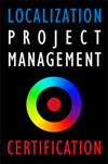 Localization Project Management Certification logo
